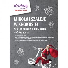 Mikołaj szaleje i Rozdaje prezenty