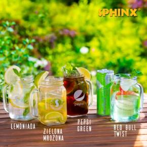 Napoje na lato w restauracjach Sphinx