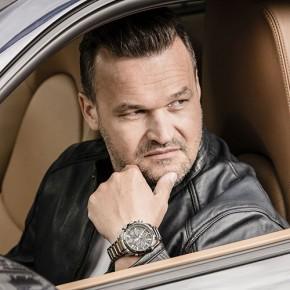 Adam Kornacki został ambasadorem zegarków Edifice dostępnych w Time Trend