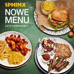 Nowe menu w restauracjach Sphinx