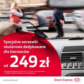 Specjalne soczewki dla kierowców