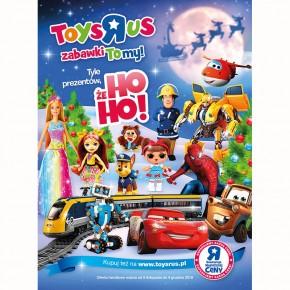 """Toys""""R""""Us –  Sprawdź nasz najnowszy Katalog Prezentowy! Tyle prezenrtów, że HO HO!"""