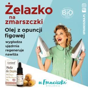 Żelazko na zmarszczki - olej z opuncji figowej