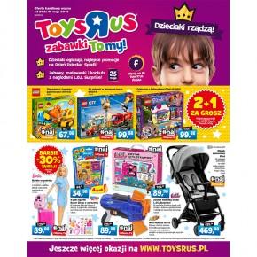 """Promocje gazetkowe do -50%  – trafione prezenty na Dzień Dziecka tylko z Toys""""R""""Us!"""
