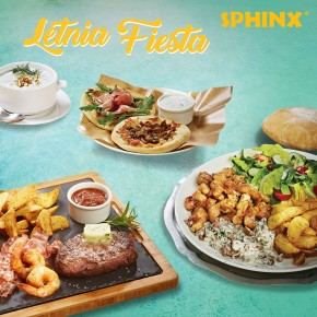 """Letnia Fiesta"" w restauracjach SPHINX"