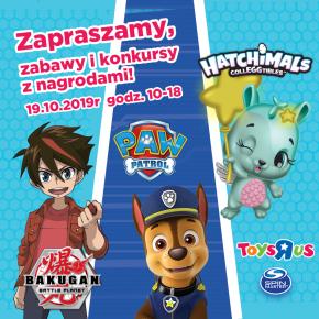 """SUPER ZABAWA z Psim Patrolem, Bakugan i Hatchimals w sklepie Toys""""R""""Us"""