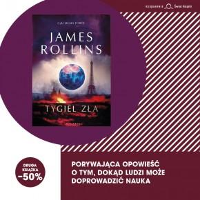 """""""Tygiel zła"""" James Rollins"""