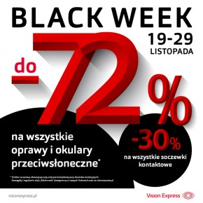 BLACK WEEK w Vision Express