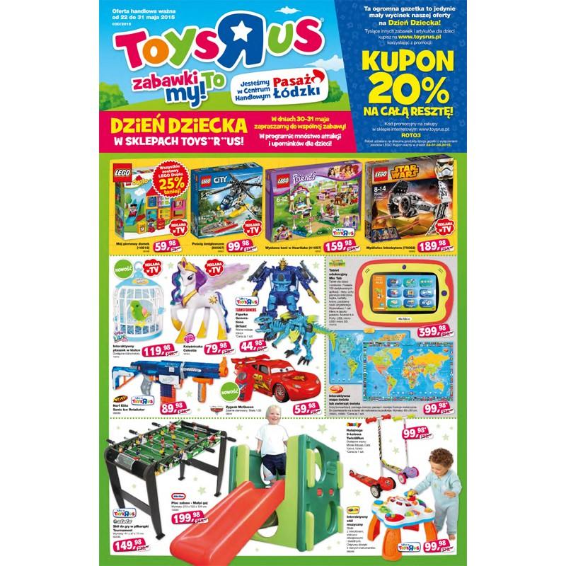 Toysrus Najnowsza Gazetka Promocyjna Na Dzień Dziecka Promocje