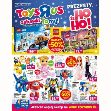 """Toys""""R""""Us –  Rabaty do -50%! Sprawdź naszą najnowszą gazetkę promocyjną!"""