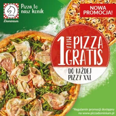 1 PIZZA GRATIS!