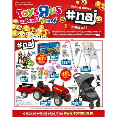 """Promocje gazetkowe do -50%  – trafione prezenty Wielkanocne tylko z Toys""""R""""Us!"""