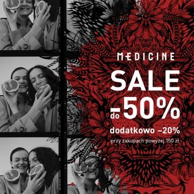 Sale do -50% w Medicine
