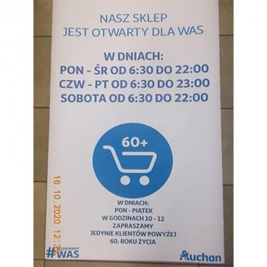 Nowe godziny otwarcia Auchan